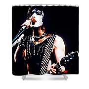 Kiss In Concert Shower Curtain