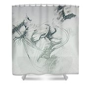 Kiss Of Love Shower Curtain