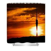 Kiss Of Morning Sun Shower Curtain