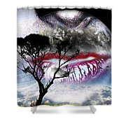 Kiss Of The Moon Shower Curtain