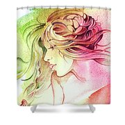 Kiss Of Wind Shower Curtain