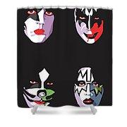 Kiss Shower Curtain