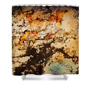 Kissed By Autumn's Winds Shower Curtain
