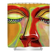Kissed Shower Curtain
