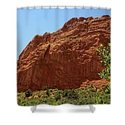 Kissing Camels At The Garden Of The Gods Shower Curtain