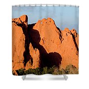 Kissing Camels Formation At Garden Of The Gods Shower Curtain