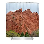 Kissing Camels Rock Garden Of The Gods Shower Curtain
