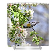 Kissing Flowers Shower Curtain