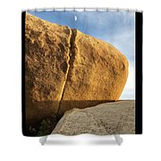 Kissing The Moon  Shower Curtain