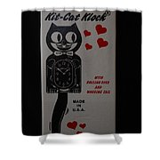 Kit Cat Klock Shower Curtain