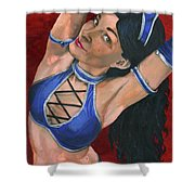 Kitana Shower Curtain