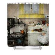 Kitchen - How I Bake Bread 1923 Shower Curtain