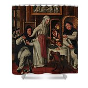Kitchen In A Convent Shower Curtain