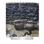 Kitchen Livestock Shower Curtain