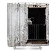 Kitchen Of An Old House, Helen Keller Shower Curtain