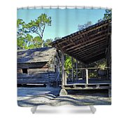 Kitchen Out Back Shower Curtain