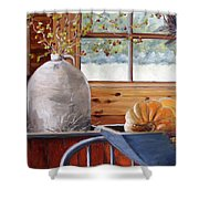 Kitchen Scene Shower Curtain