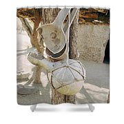 Kitchen Utensils Shower Curtain