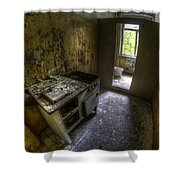 Kitchen With A Loo Shower Curtain