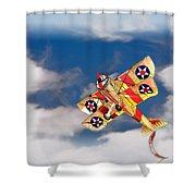 Kite Dreams Shower Curtain