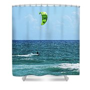 Kitesurfer Dude Shower Curtain