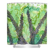 Kits Garden Shower Curtain