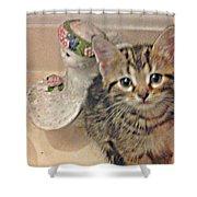 Kitten Love Shower Curtain