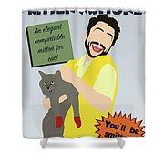 Kitten Mittons Shower Curtain