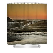 Kiwanda Tumble Shower Curtain
