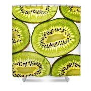 Kiwi Fruit II Shower Curtain