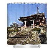 Kiyomizu-dera Shower Curtain