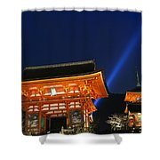 Kiyomizu-dera Main Gate Shower Curtain