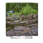 Klepzig Mill Ozark National Scenic Riverways Dsc02803 Shower Curtain