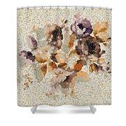 Klimt's Garden Shower Curtain