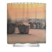 Kluetzer Winkel Shower Curtain