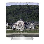 Km 578 Spay Germany Shower Curtain