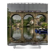 Knaresborough Viaduct Shower Curtain