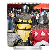 Knight Squad Shower Curtain