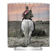 Knight's Quest Shower Curtain