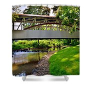 Knisley Covered Bridge #6 Shower Curtain