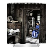 Knitting Room Shower Curtain