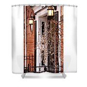 Knocking At Your Door Shower Curtain
