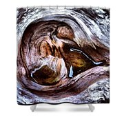 Knot Abstract Shower Curtain