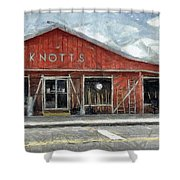 Knott's Hardware Shower Curtain