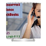 Know About Incorrect Beginning Balance Occurs In Quickbooks Shower Curtain
