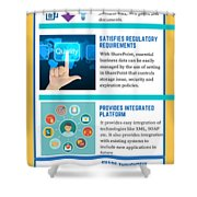 Know About The Benefits Of Using Microsoft Sharepoint 201 Shower Curtain