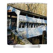 Knox Covered Bridge Shower Curtain