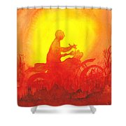 Koala Lumpur Sunset Shower Curtain