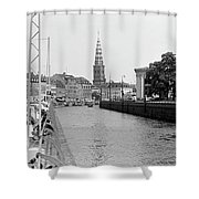 Kobenhavn Kanal Shower Curtain