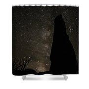 Kodachrome Basin Night Sky 2930 Shower Curtain